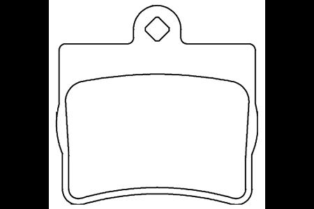 BY-1002奔驰C系列刹车片